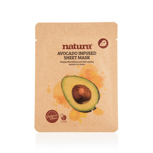 Natura®  Avocado Sheet Mask
