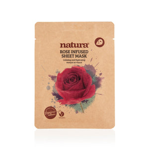 Natura®  Rose Sheet Mask