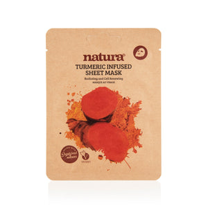 Natura®  Turmeric Sheet Mask