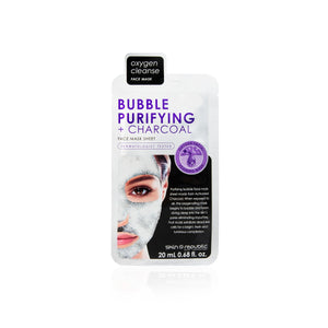 Skin Republic Bubble Purifying + Charcoal Sheet Mask