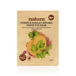 Natura®  Potato And Parsley Under-Eye Mask