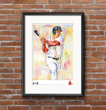 Load image into Gallery viewer, Rafael Devers Watercolor Fine Art Print