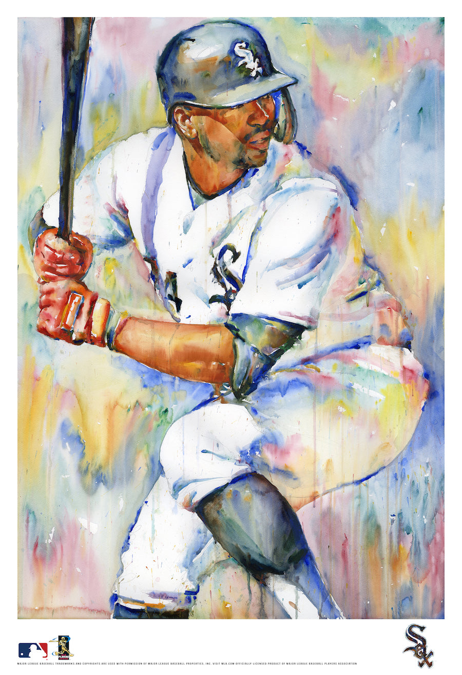 Eloy Jimenez Watercolor Fine Art Print