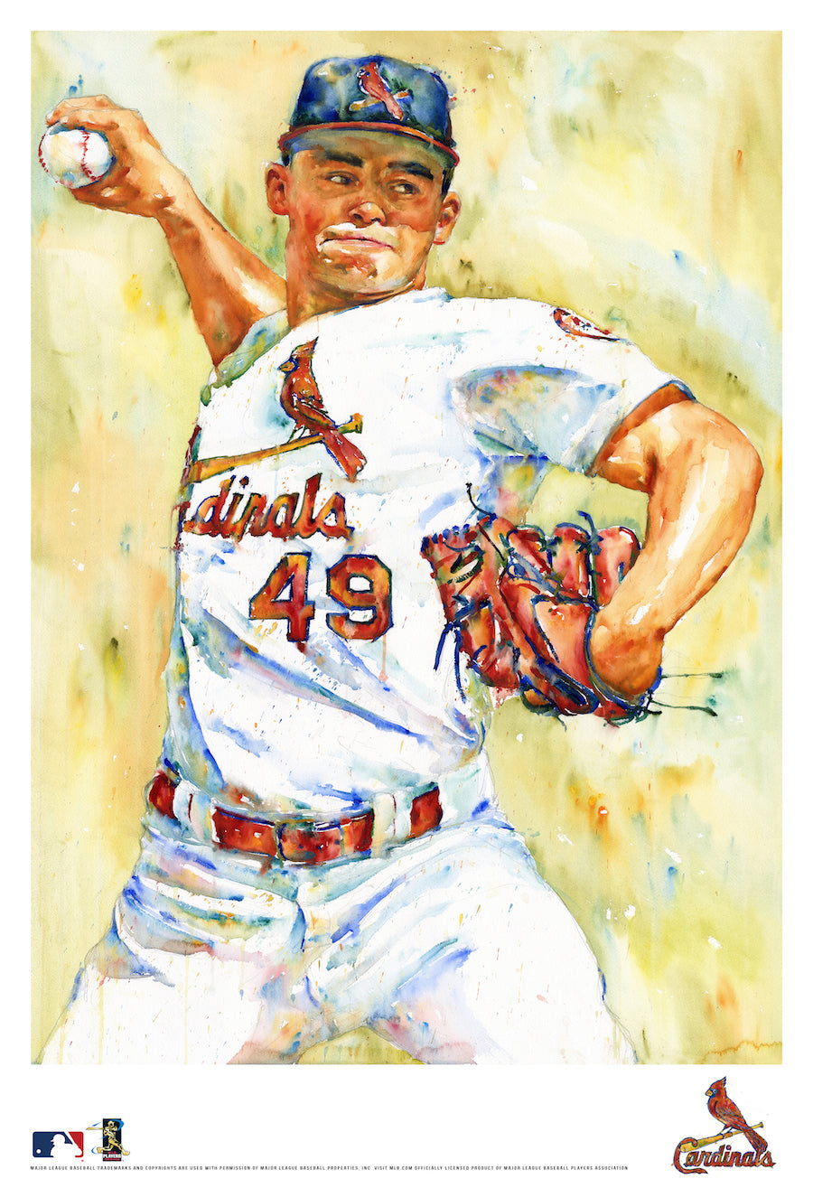 Jordan Hicks Watercolor Fine Art Print