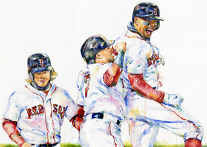 Boston Red Sox Home Run Celebration