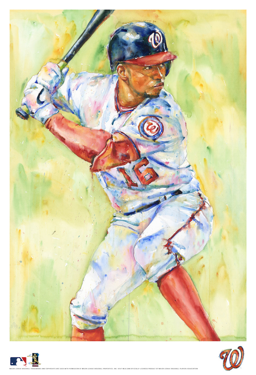 Victor Robles Watercolor Fine Art Print