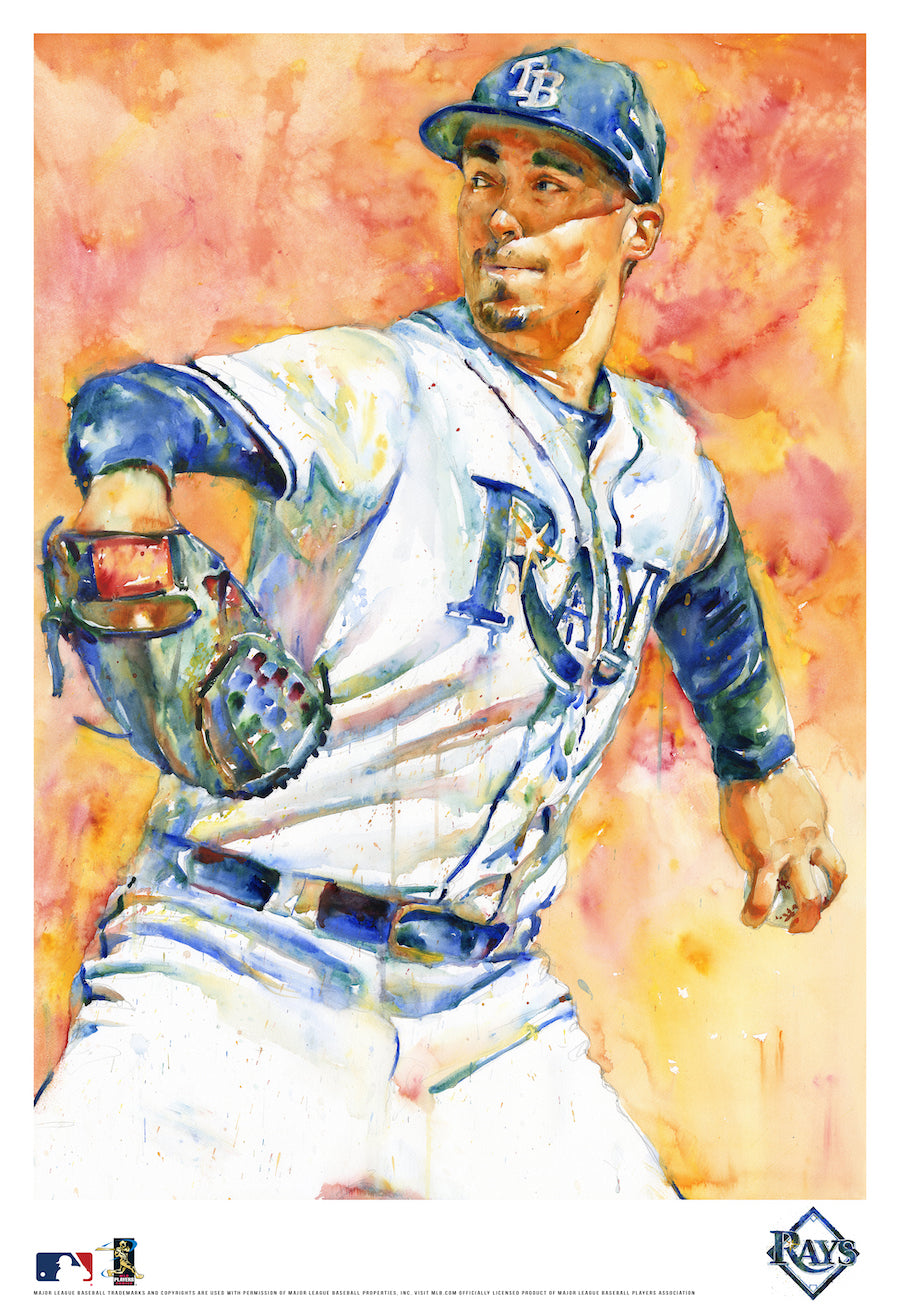 Blake Snell Watercolor Fine Art Print