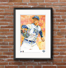 Load image into Gallery viewer, Blake Snell Watercolor Fine Art Print