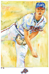 Mike Soroka Watercolor Fine Art Print