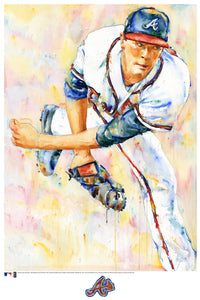 Max Fried Watercolor Fine Art Print