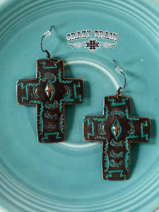 Crazy Train® Blessed Love Earrings