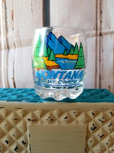 "Montana ""Big Sky Country"" Shot Glass 2 oz."