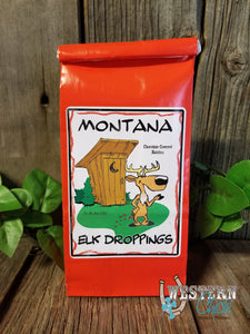 Montana's Own Elk Droppings Montana Gifts Huckleberry Haven