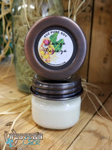 Mango Papaya Mason Jar Candle 4 oz Candles & Melts Candle Baarn Co.