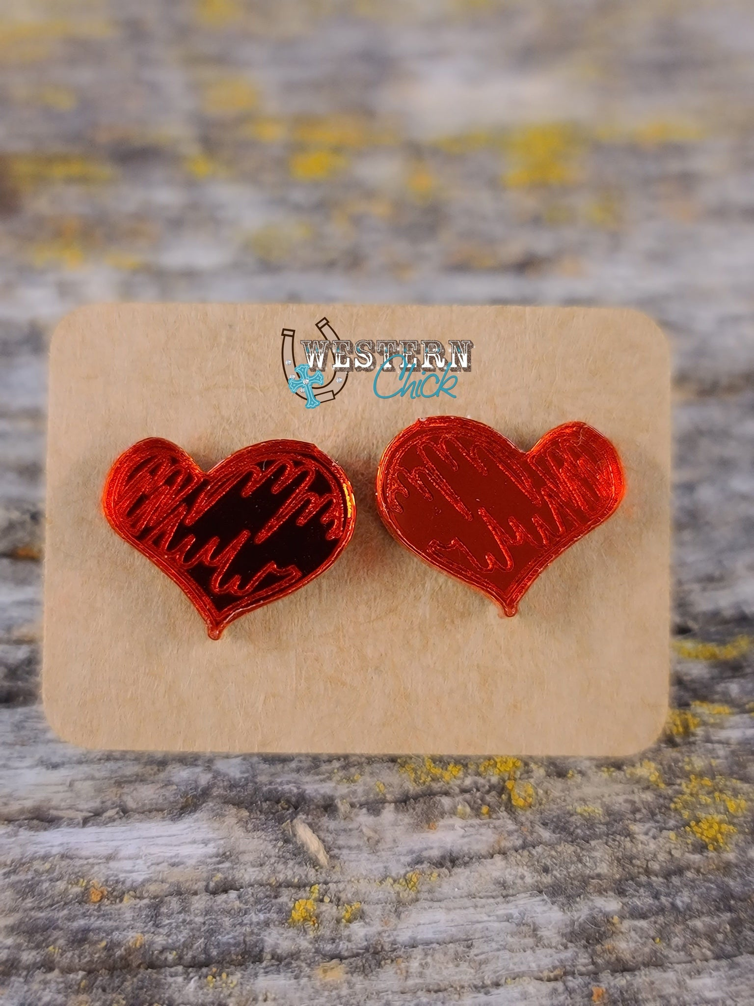 Earrings - Red XOXO Jewelry Southern Charm Trading Co