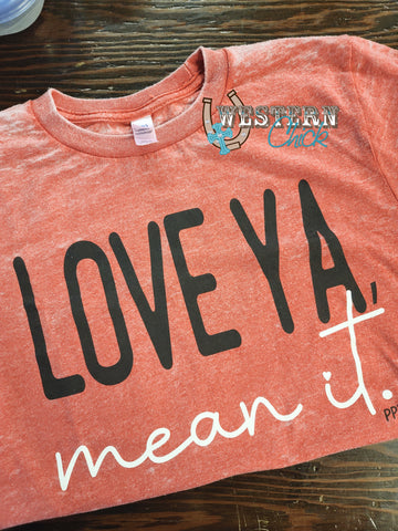 Love Ya Mean It Valentine's Tee