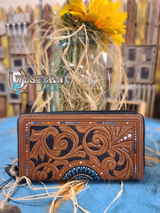 The Amelia Mae Leather Wallet