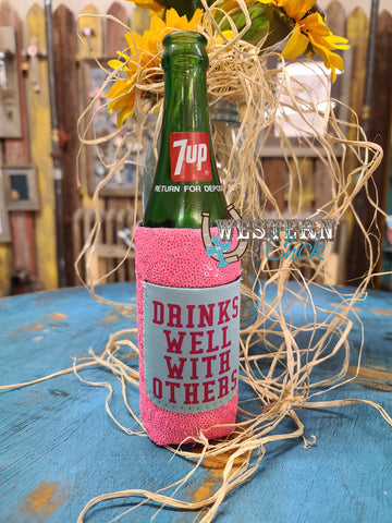 Drinks Well Slim Can Cooler Koozie
