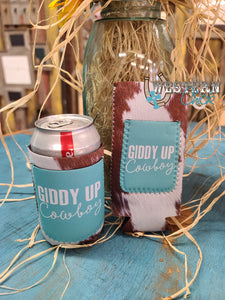 Giddy Up Cowboy Can Koozie