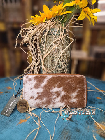The Annalise Hair-On Leather Wallet