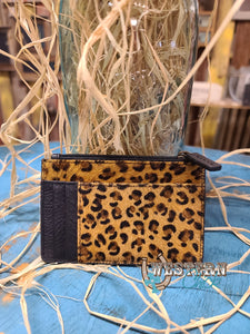 Better Together Card Holder - Leopard Sparkle