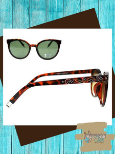 Western Cat Eye Sunglasses Sunglasses Montana West
