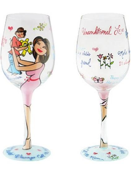 Drink Glass-Motherly Love-Girl