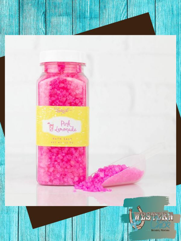 Pink Lemonade Bath Salt 10 oz Candles & Melts Leebrick