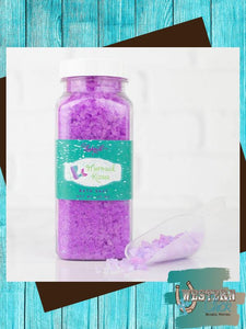 Mermaid Kisses Bath Salt 10 oz Candles & Melts Leebrick