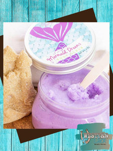 Mermaid Dreams Luxury Body Scrub Candles & Melts Leebrick