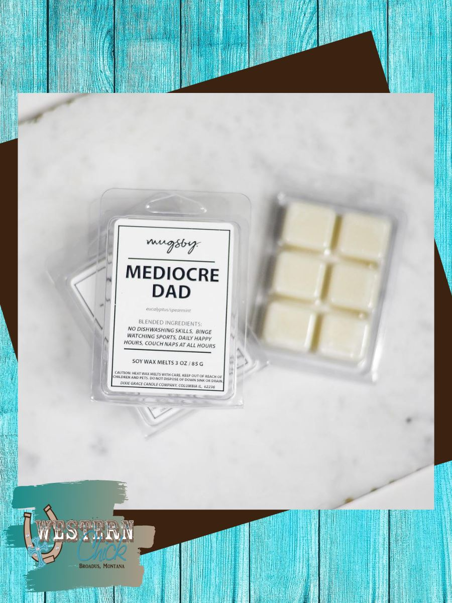 Mediocre Dad Wax Melts Candles & Melts Mugsby