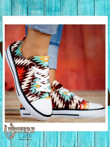 Aztec Tennis Shoes