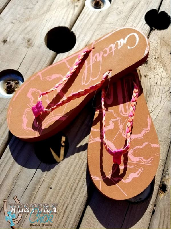 Flip Flop-Desert Sun Shoes Trenditions