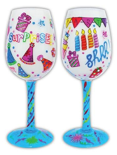 Drink Glass-Surprise Drink Glasses Bottoms Up