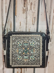 Montana West Black Crossbody Bag
