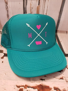 Montana Arrows Trucker Cap