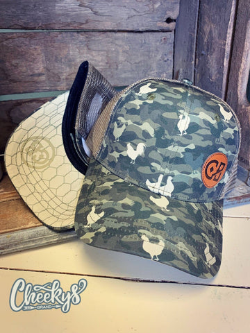 Chicken Camo Cap