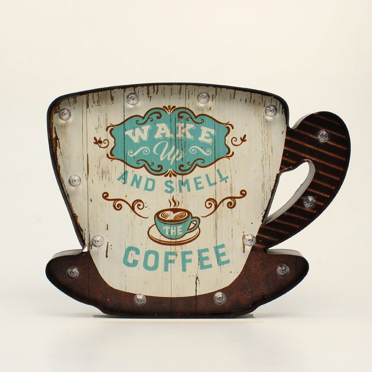 Coffee Wall Decor LED Gift M&F Western Products