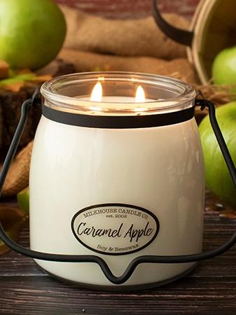 Caramel Apple Butter Jar Candle 16 oz Candles & Melts Milkhouse Candles