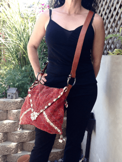 A great collection of boho bags, totes & pouches custom made by IndiBlu as well as great market finds throughout India.