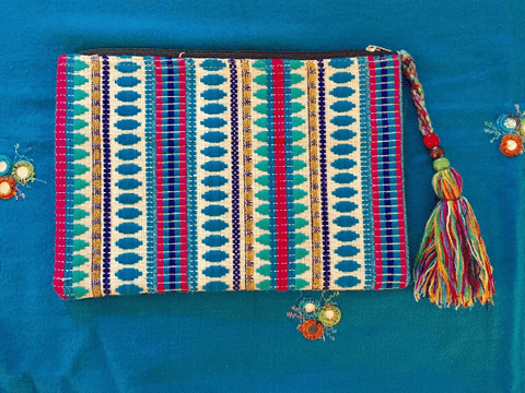 Boho Clutch Bag Bags IndiBlu Boutique