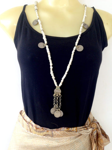 Boho Necklace Jewelry IndiBlu Boutique