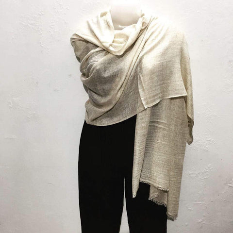 Cashmere Shawls - Medium Brown - IndiBlu Boutique