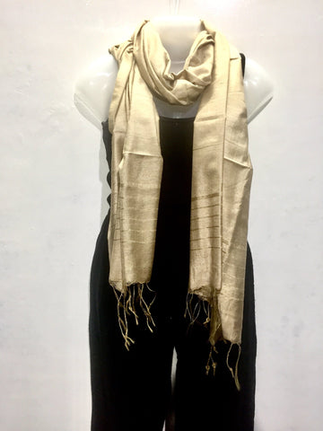 Classic Silk Scarf Scarves IndiBlu Boutique