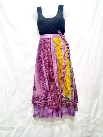 Gypsy Wrap Around Skirt Wrap Skirts IndiBluBoutique