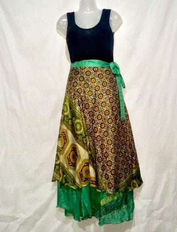 Gypsy Wrap Around Skirt - IndiBlu Boutique