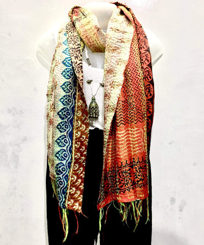 Kantha Scarf - IndiBlu Boutique