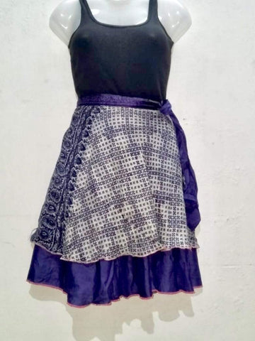 Mini Wrap Skirt - IndiBlu Boutique