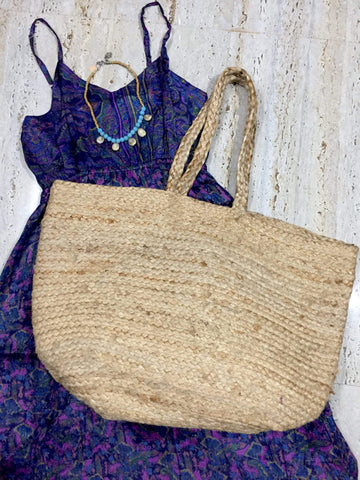 Playa Jute Tote Bags IndiBlu Boutique