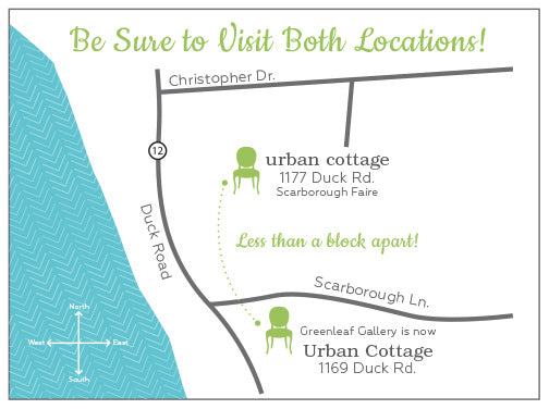 Urban Cottage  2 Locations In Duck, Nc